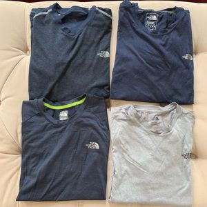 Bundle of 4 North Face Tees